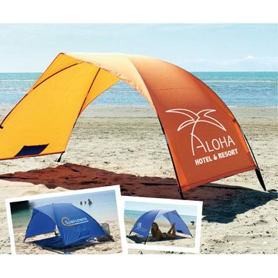 abri solaire de plage