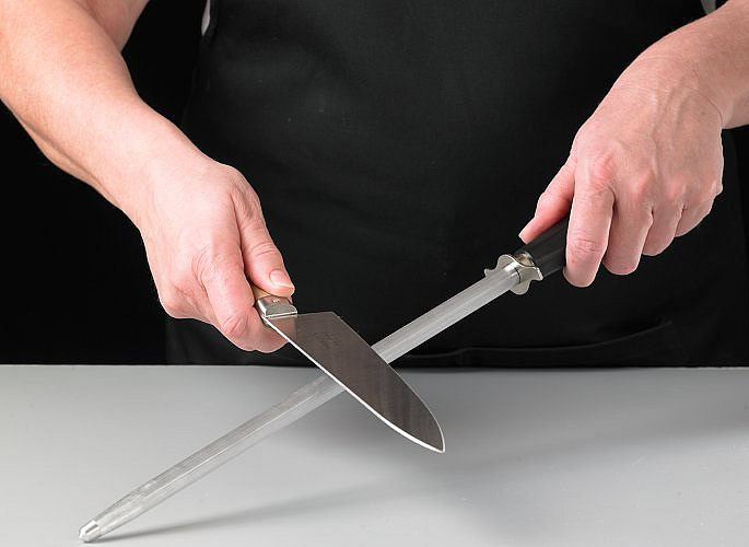affuter les couteaux