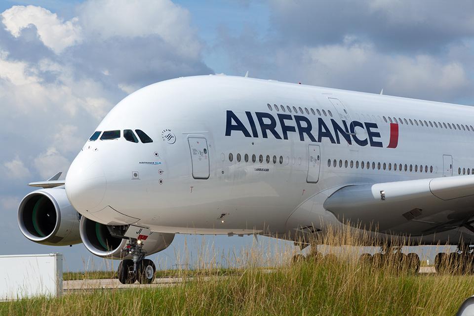 air france double decker