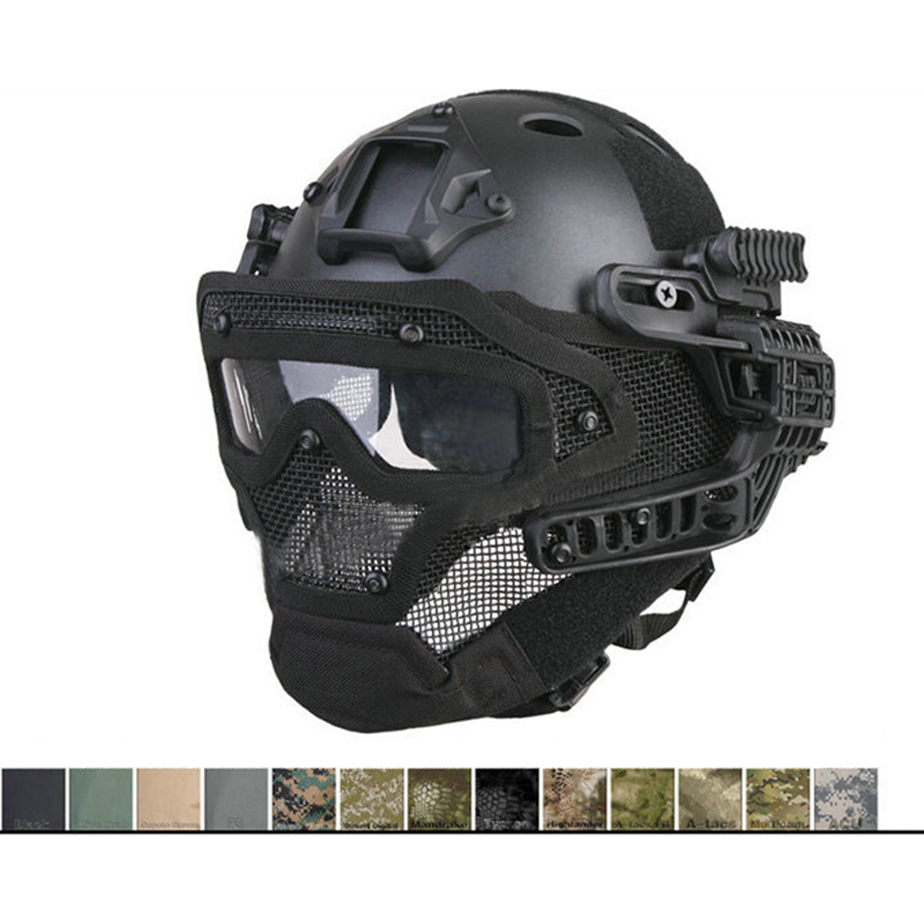 airsoft casque integral