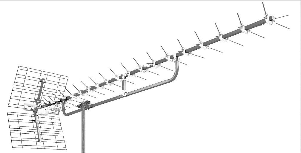 antenne rateau reception tres difficile