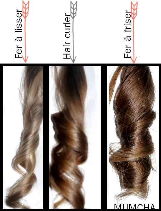 appareil pour faire des boucles cheveux