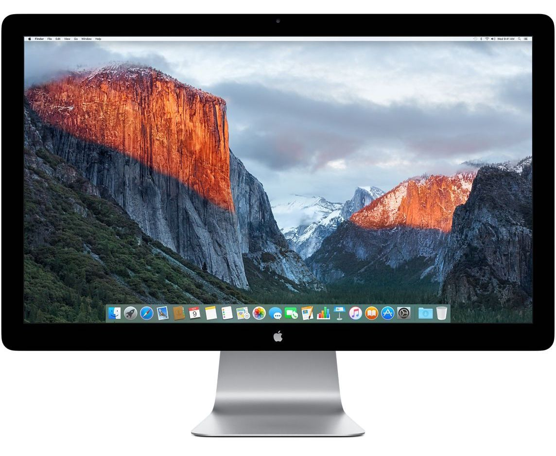 apple thunderbolt display écran led 27