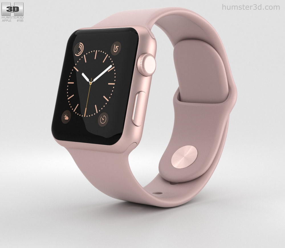 apple watch serie 2 rose