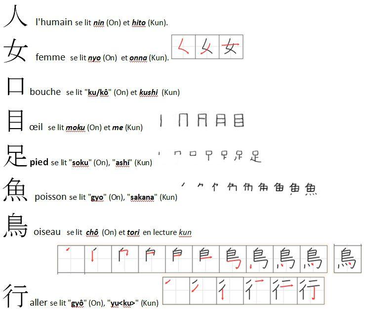 apprendre les kanji