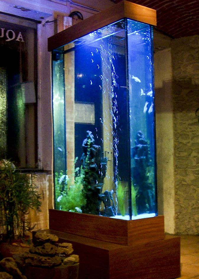 aquarium colonne design