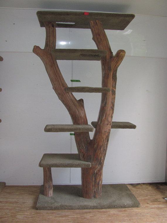 arbre à chat artisanal
