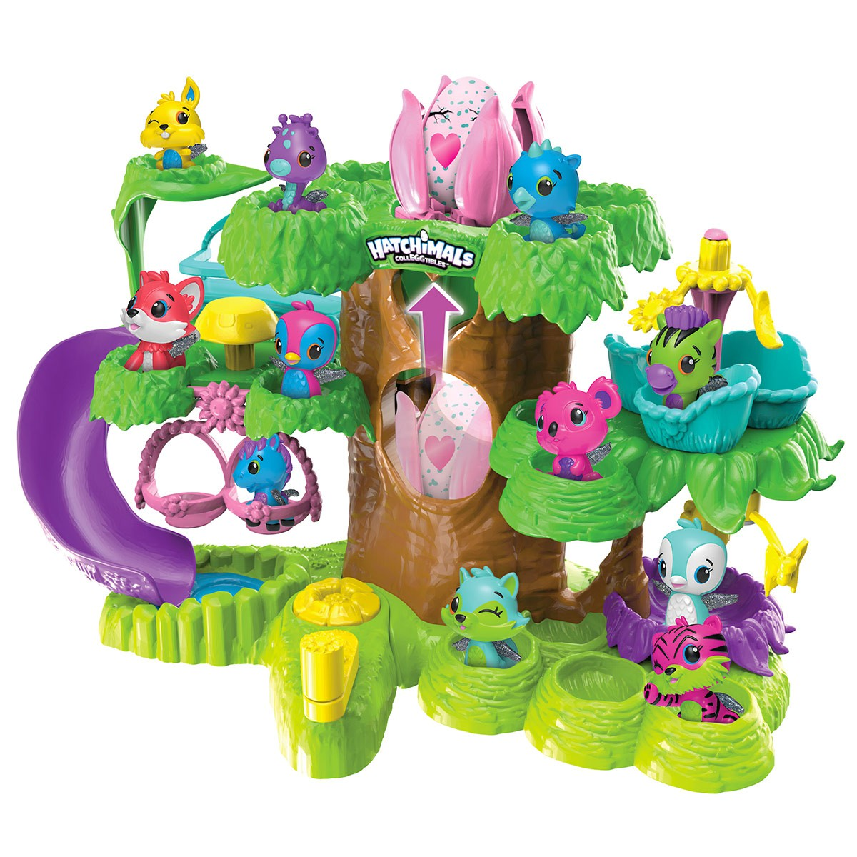 arbre de collection hatchimals