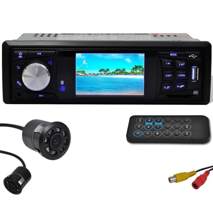 autoradio bluetooth avec camera de recul