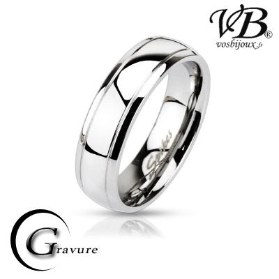 bague homme grande taille 74