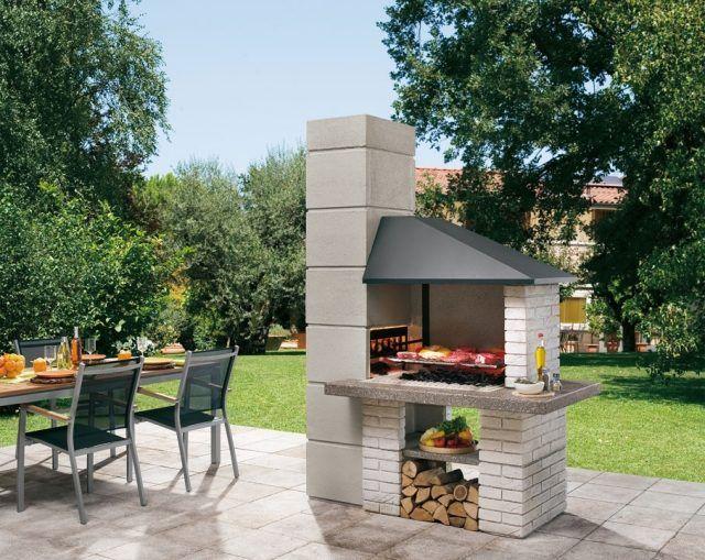 barbecue extérieur design