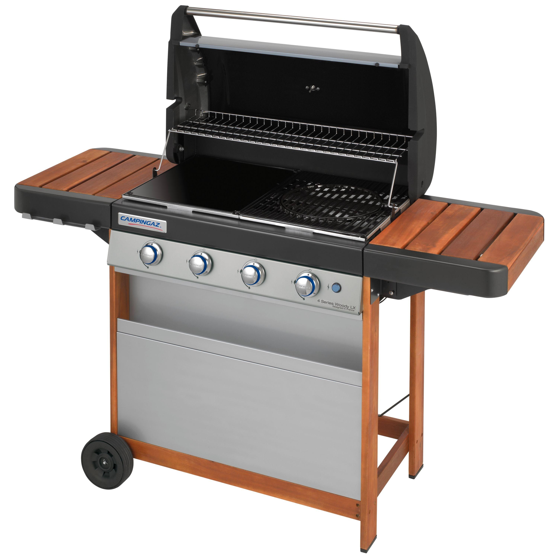 barbecue gaz grille fonte