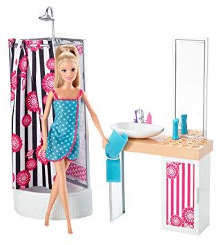 barbie salle de bain