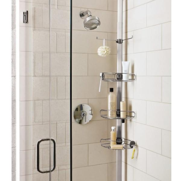 barre de rangement douche