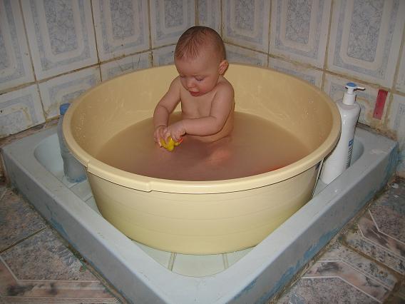 bassine pour douche