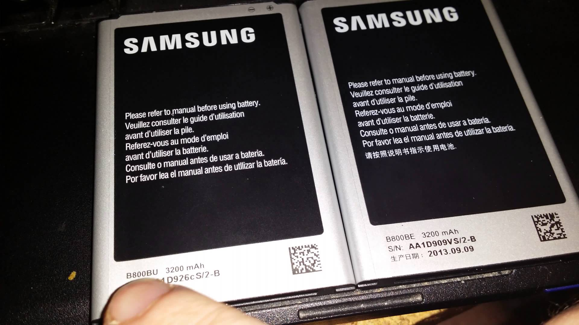batterie samsung note 3 original