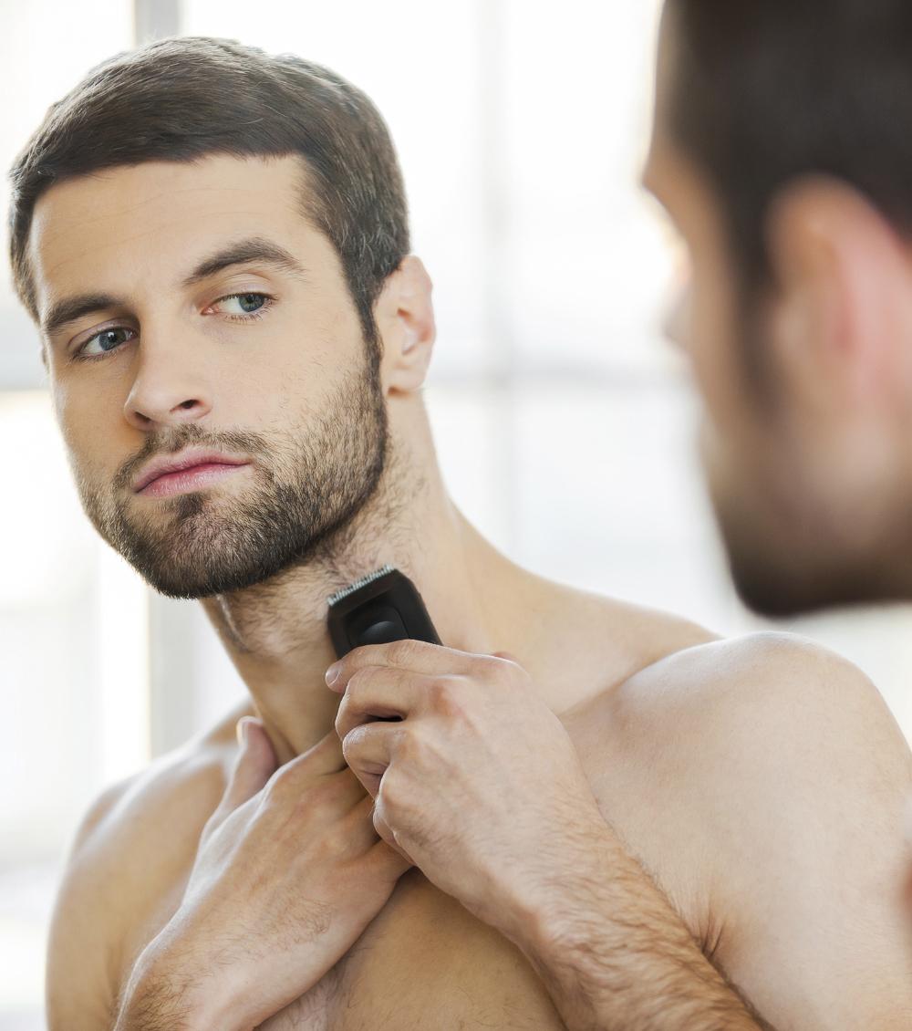 bien se raser la barbe