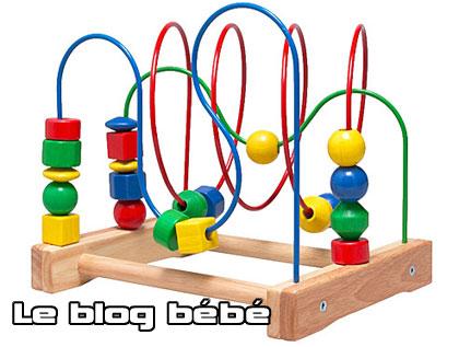 boulier en bois bébé
