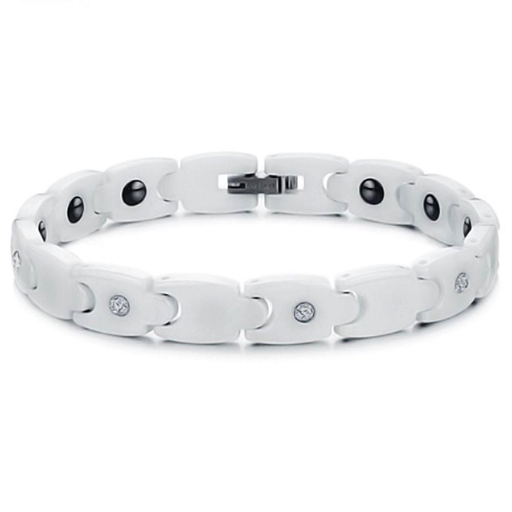 bracelet ceramique blanc homme