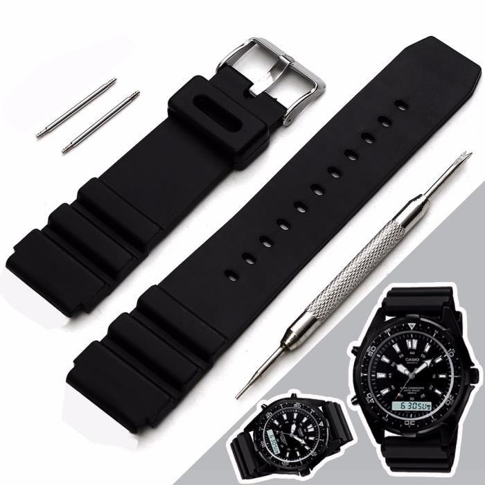 bracelet de montre silicone