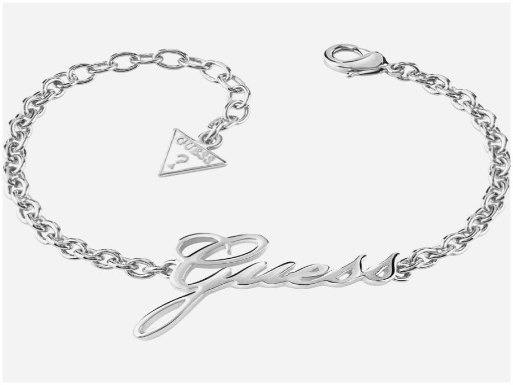 bracelet guess argent