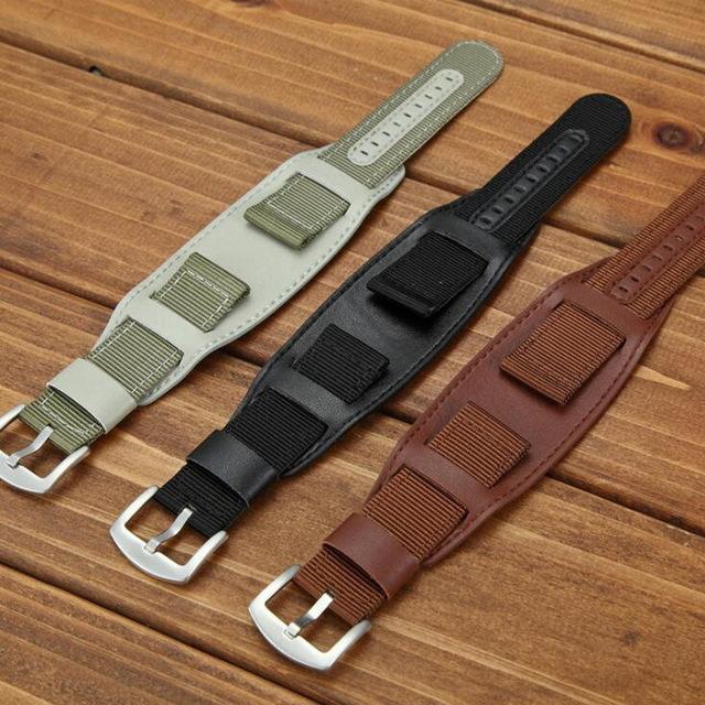 bracelet montre 20mm cuir