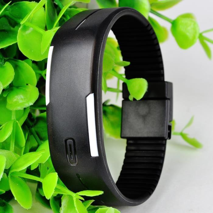 bracelet montre led