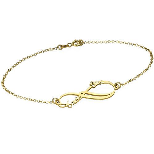 bracelet prénom infini