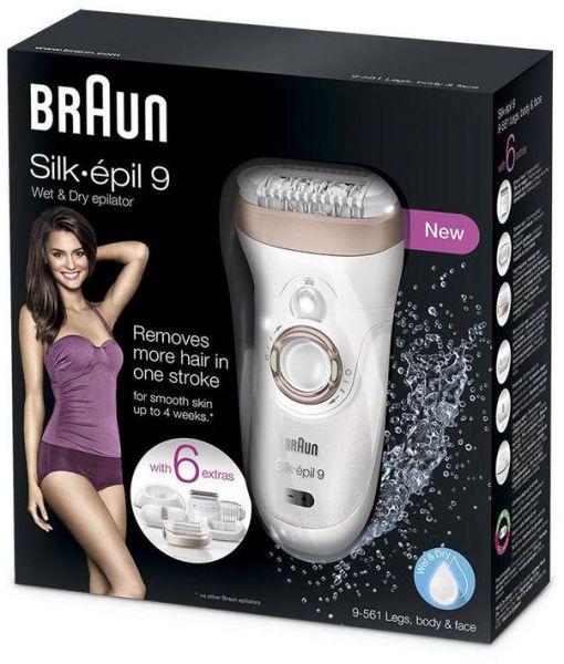 braun silk epil 9 wet and dry