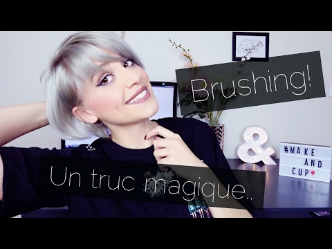 brosse chauffante pour brushing cheveux courts