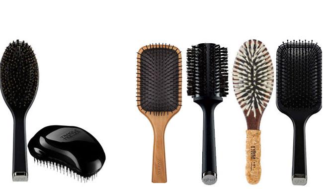 brosse cheveux long