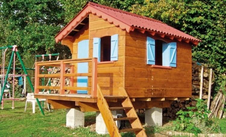 cabane dans le jardin