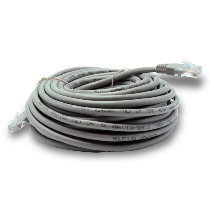 cable ethernet rj45 15m