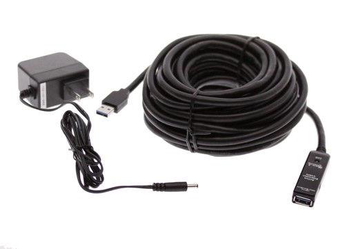 cable usb amplifié