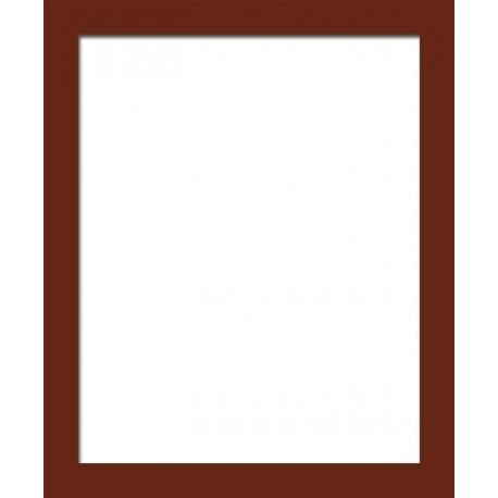 cadre photo marron