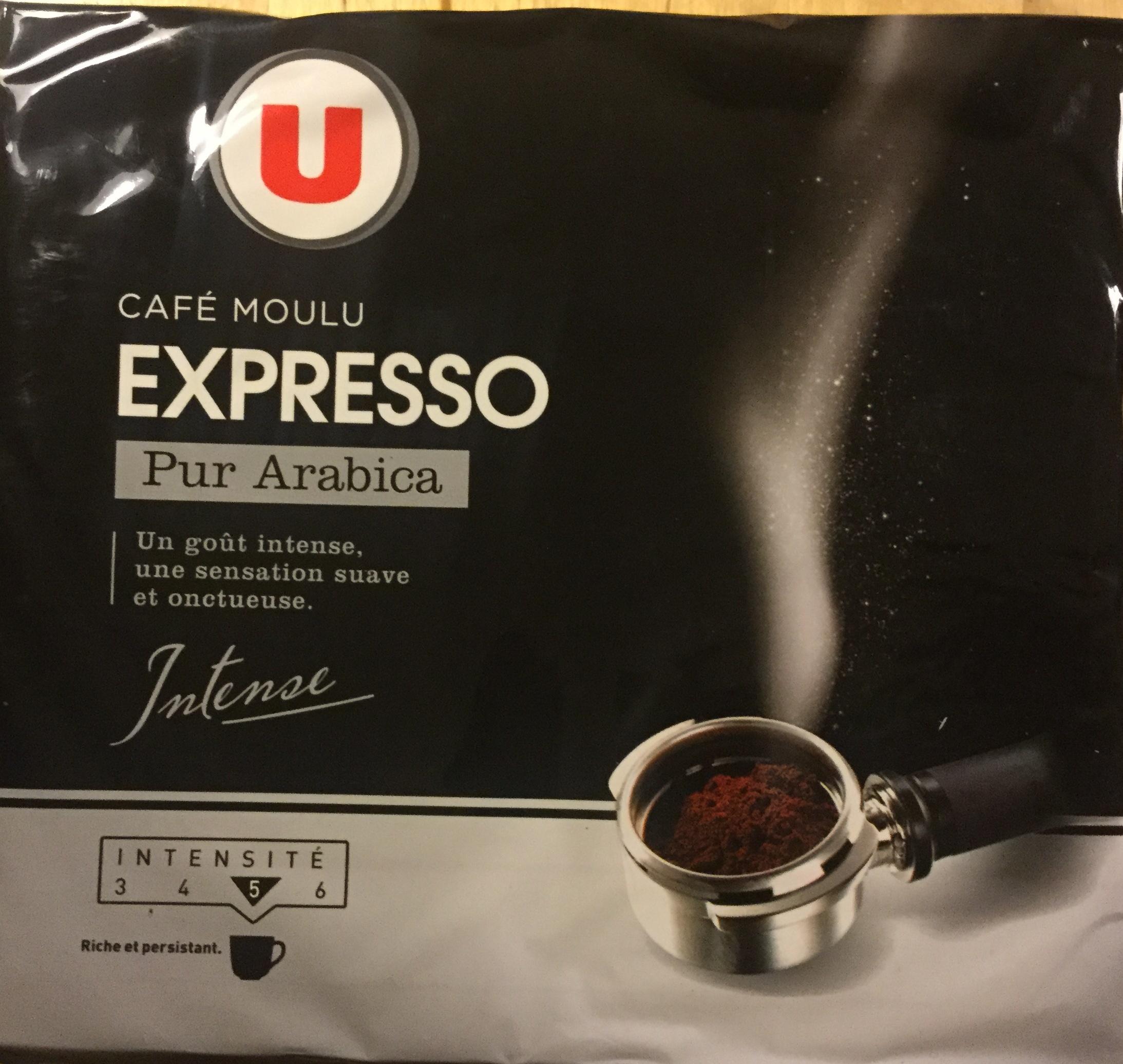 café moulu expresso