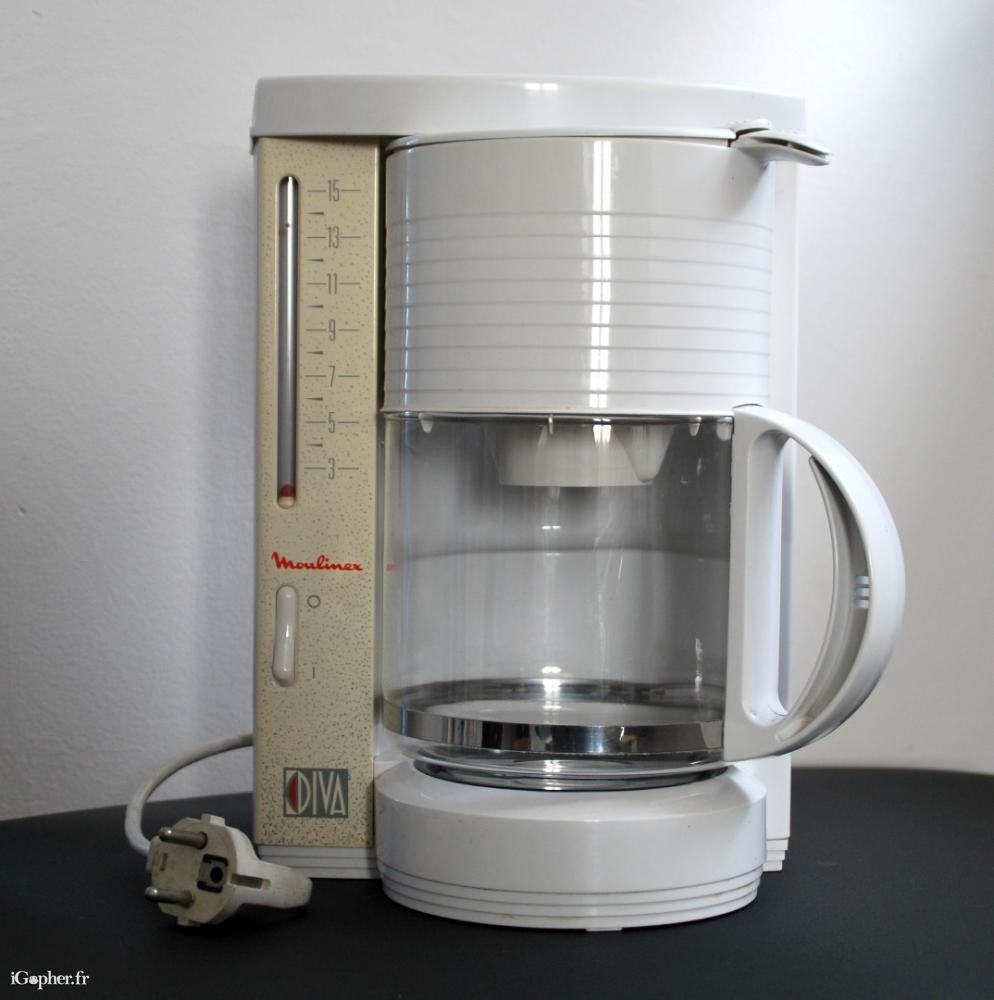 cafetiere electrique moulinex