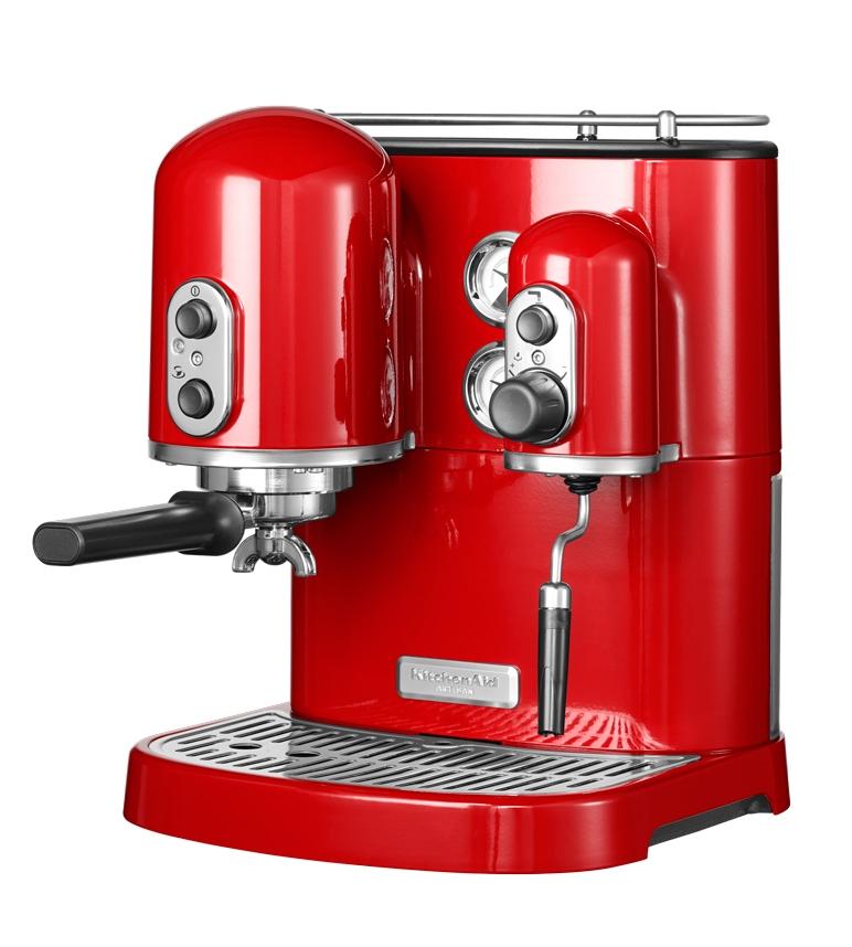 cafetiere kitchenaid rouge