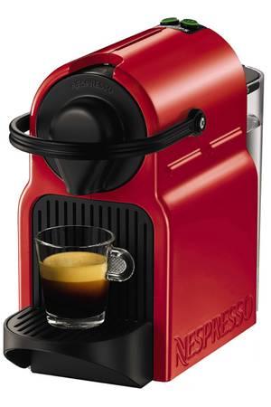 cafetière nespresso rouge