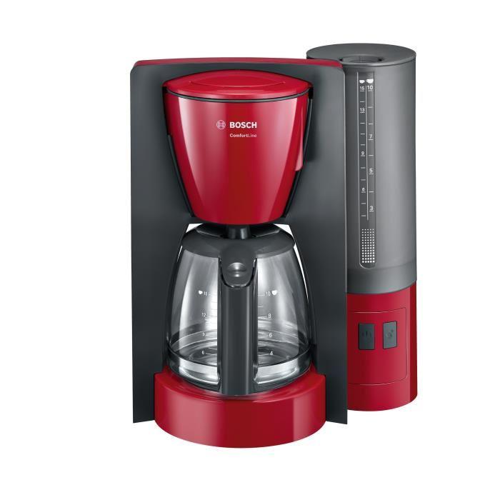 cafetière rouge