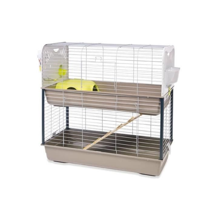cage a lapin double
