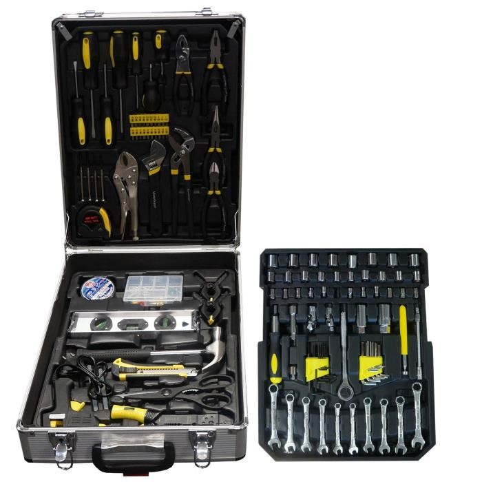 caisse a outils stanley complete