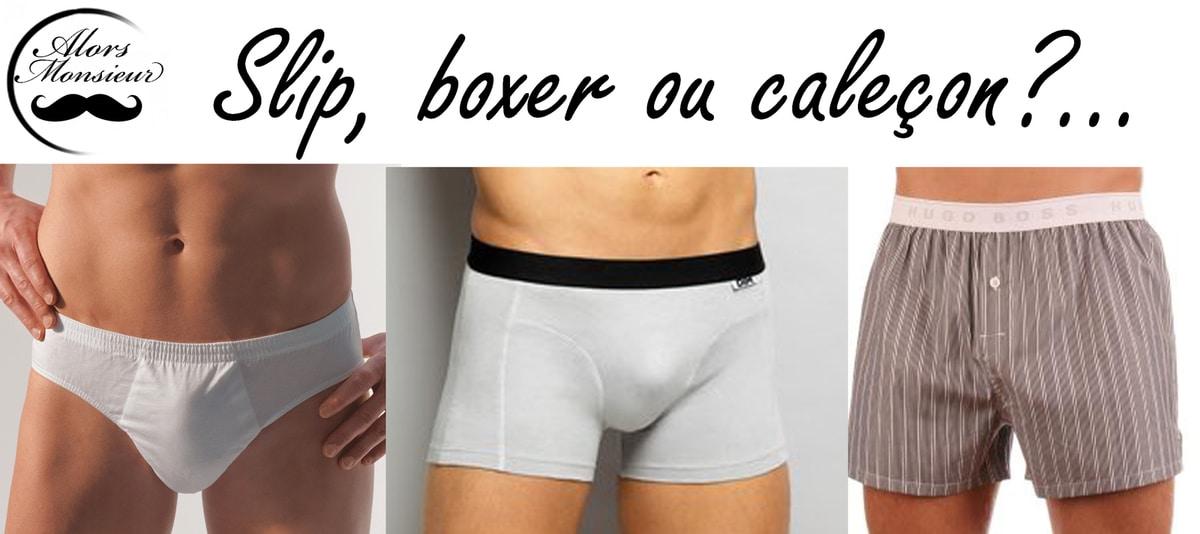 calecon ou boxer santé