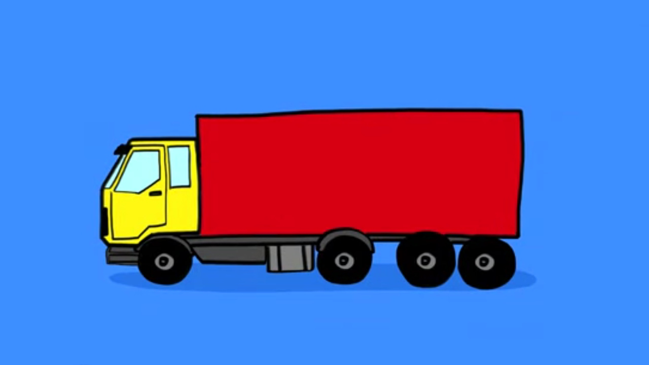 camion dessin