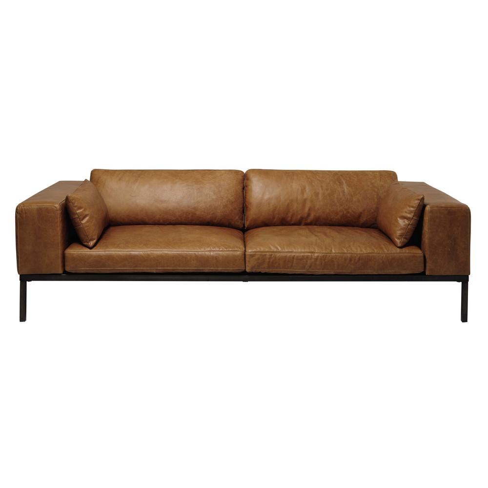 canapé 4 places cuir