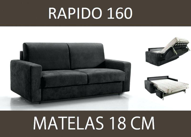 canapé lit 160