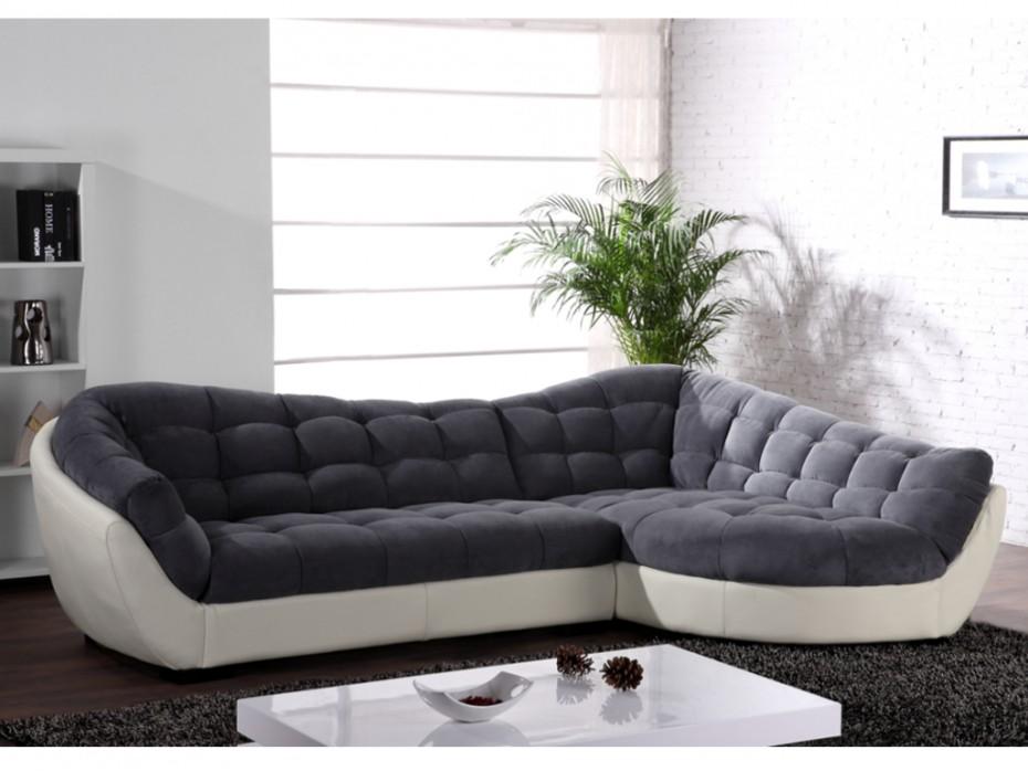 canapé tissu angle