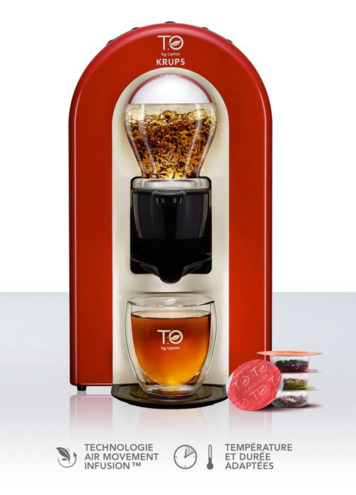 capsule thé krups