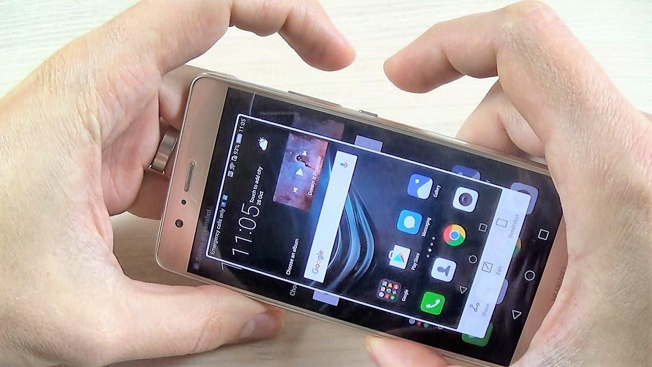 capture d écran huawei p9