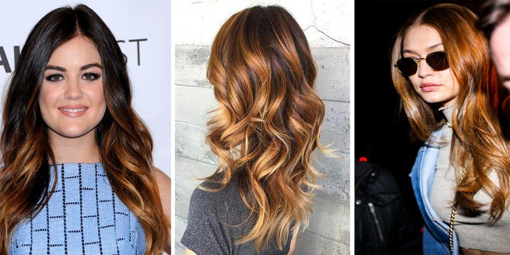 caramel cheveux